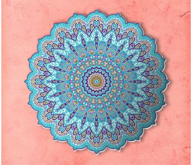 MAXIMPRESION MANDALA BLUE EDITION