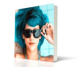 MAXIMPRESION BLOQUE DE PVC FOTOBLOQUE 18 X 18 FRONTAL