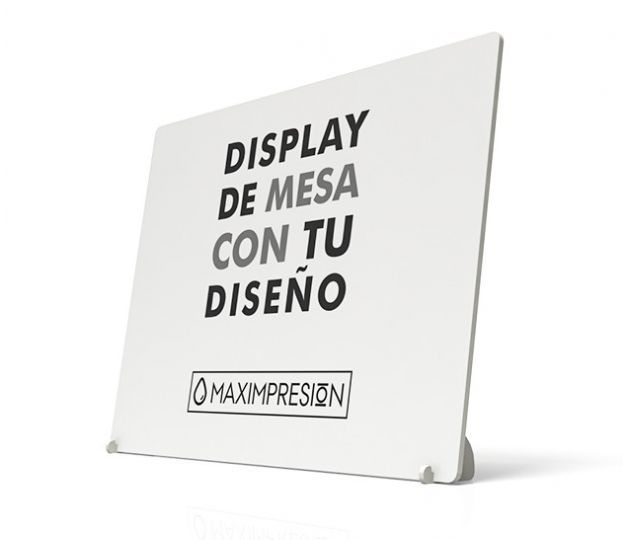 MAXIMPRESION DISPLAY DE MESA HORIZONTAL
